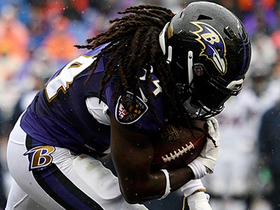 Ravens strike back with a 6-yard rushing TD by Alex Collins