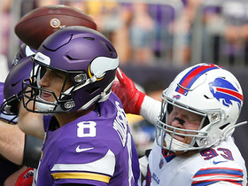 Trent Murphy comes up with HUGE strip-sack on Cousins