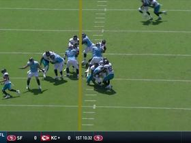 Calais Campbell powers up for big sack on third down