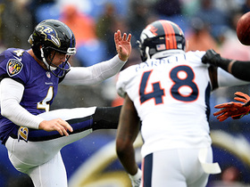 Joe Jones blocks Sam Koch's punt on Ravens' 6-yard line