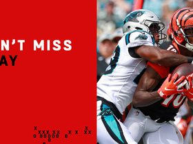 Can't-Miss Play: A.J. Green tip-toes down the sideline for 31-yard gain