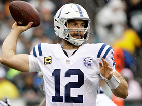 Andrew Luck lofts perfect 5-yard TD pass to Ryan Grant