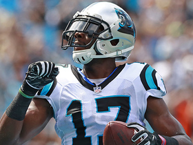Cam Newton slings pass to Funchess for quick TD
