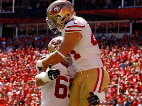49ers fool Chiefs defense on 35-yard TD catch by Kyle Juszczyk