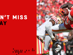 Can't-Miss Play: Tyreek Hill gets MAJOR air on leaping catch