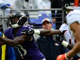 Flacco launches deep to John Brown for 44-yard catch