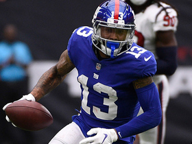OBJ takes quick slant downfield for signature 30-yard gain