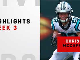 Top plays from McCaffrey's 194-yard day | Week 3