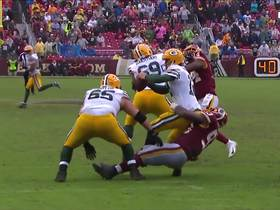 Jonathan Allen sacks Rodgers to force fourth-and-22