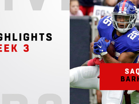 Top plays from Saquon's 117-yard day | Week 3