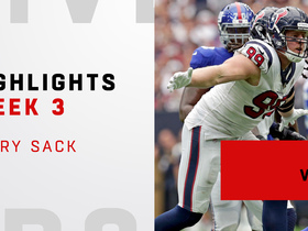 Every J.J. Watt sack | Week 3
