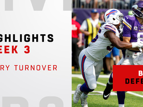Every Bills forced turnover | Week 3