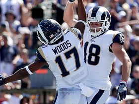 Jared Goff hits Robert Woods for quick 3-yard TD