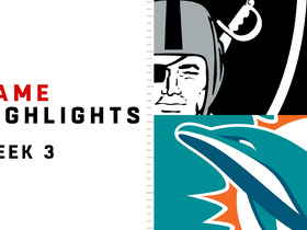Raiders vs. Dolphins highlights | Week 3