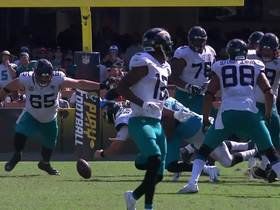 Jaguars recover Blake Bortles' fumble after Jurrell Casey strip-sack