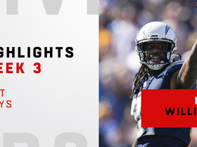 Mike Williams' best plays vs. Rams | Week 3