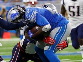 Pats' D appears to know Lions' playcall before snap