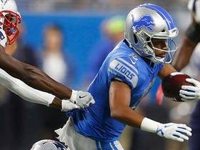 Golden Tate shows off elusiveness on first-down catch
