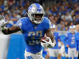Kerryon Johnson ends Lions' 70-game drought without 100-yard rusher