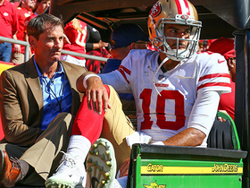 What's the ripple effect of Garoppolo's injury?