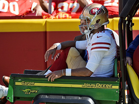 Rapoport: Garoppolo's season 'officially over' after ACL tear