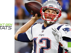 Next Gen Stats: Brady has 0.0 passer rating on deep throws in '18
