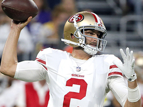 Carr: 49ers should try to bring Hoyer back via trade