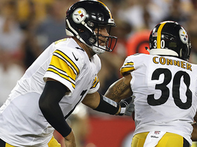 Miscommunication between Big Ben, Conner leads to 4-yard loss