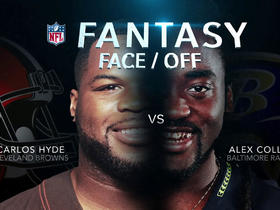 Better Week 4 fantasy option: Carlos Hyde or Alex Collins?