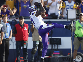 Aldrick Robinson gets behind Peters for first TD as Viking