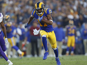 Robert Woods beats Trae Waynes over middle for 36-yard catch