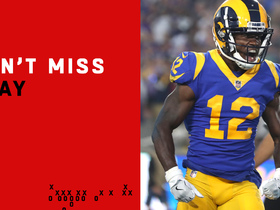 Can't-Miss Play: Cooks scores first Rams TD on epic Goff launch