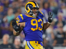 Suh surprises Cousins from side for sack