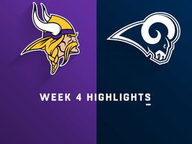 Vikings vs. Rams highlights | Week 4