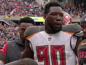Jason Pierre-Paul fired up at Bucs defense after rough start