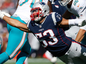 Kyle Van Noy recovers fumble after Ryan Tannehill's botched snap