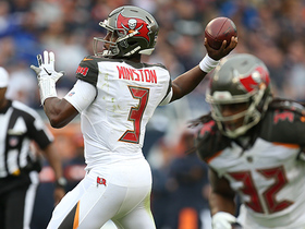 Winston zips a 16-yard TD pass to Brate