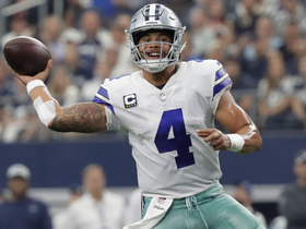 Dak hits Zeke for crucial play to get 'Boys in FG range