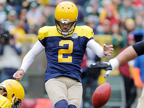 Mason Crosby makes his second 52-yard field goal of the game