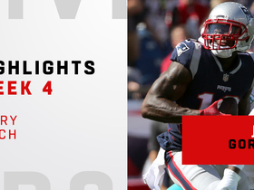 Every Josh Gordon catch from Pats debut | Week 4
