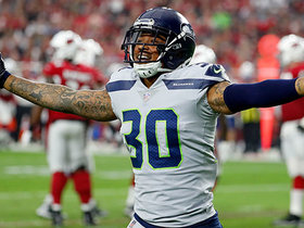 Bradley McDougald recovers a fumble to gain quick possession