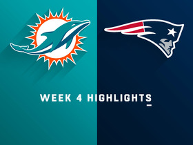 Dolphins vs. Patriots highlights | Week 4