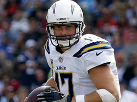 Rivers dismisses pressure to complete 22-yard pass to Tyrell Williams