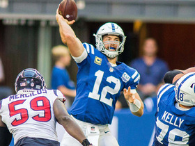 Andrew Luck's Hail Mary attempt falls incomplete to force OT