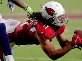 Larry Fitzgerald completely lays out for incredible grab