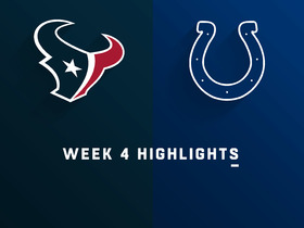 Texans vs. Colts highlights | Week 4