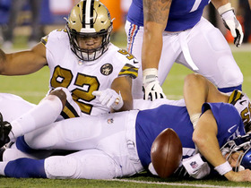 Saints seal win with fumble recovery on Eli Manning