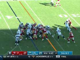 Niners D comes away with crucial stop on third-and-2
