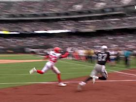 Carr throws corner TD to Cook for thrilling last-second TD