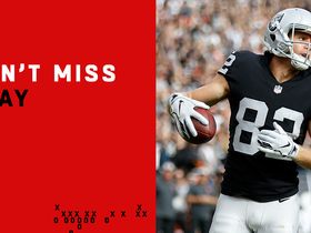 Can't-Miss Play: Carr ties game with perfect fade to Jordy
